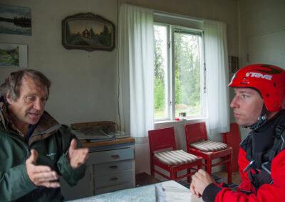 Hemma hos Björn Sarstad